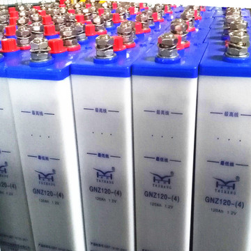 Railway use nickel cadmium battery 120ah nicd battery