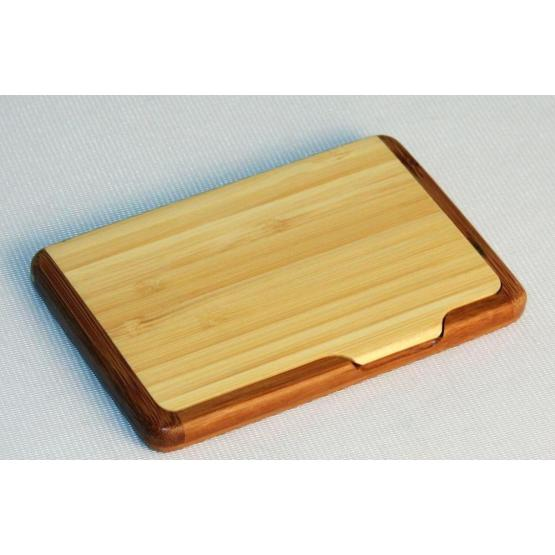 Exquisite Bamboo Business Card Box