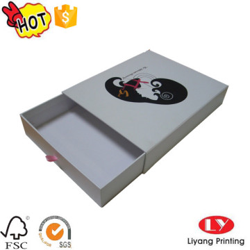 Packaging drawer box with logo for jewelry