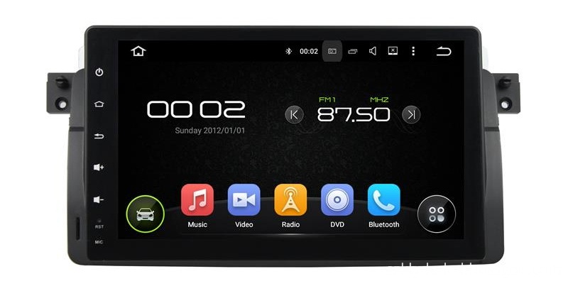 BMW E46 Android 7.1 dvd players (1)