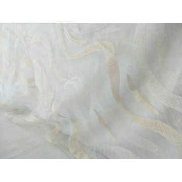 100% Polyester New Design Cutting Sheer Table Cloth