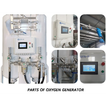 PSA Oxygen Gas Making Machine with Factory Price