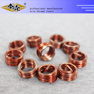Customize any size 10-24 helical coil insert