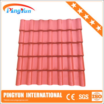 plastic corrugated roofing sheets/plastic pvc roofing tiles