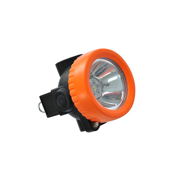 Static proof miners headlamp with adjustable clip