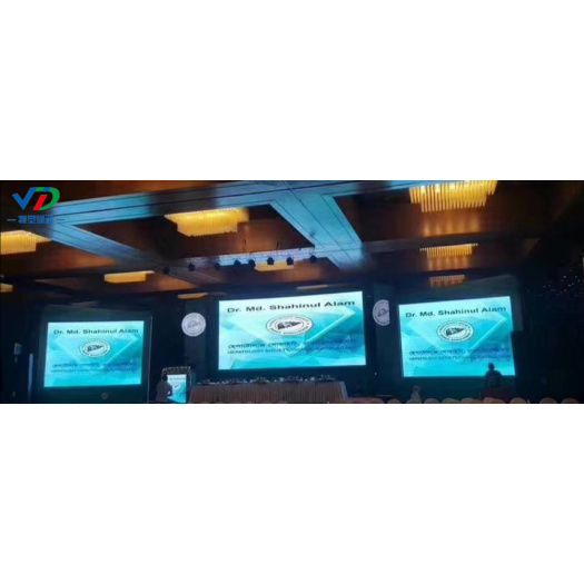 PH6 Indoor Rental LED Screen with 576x576mm cabinet