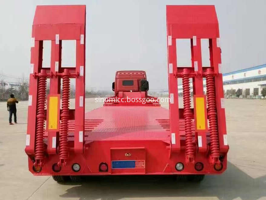 60 Tons Low Bed Trailers For Sale