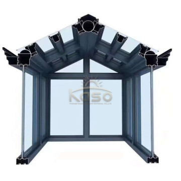 Aluminium Winter Garden Sunroom Veranda Frame Sun House