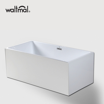 Multi Size Rectangle BathTub in White