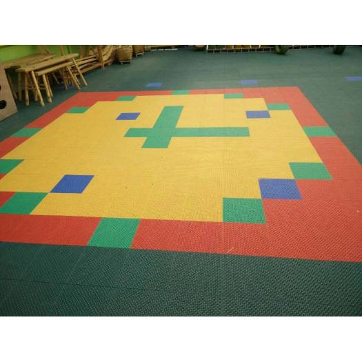 Mudolar Interlocking Tiles Kids Playground