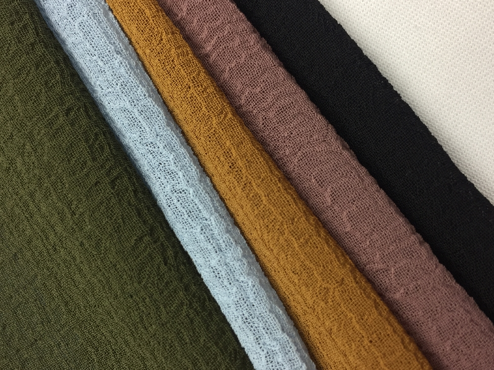 Nano Crepe Solid Fabric