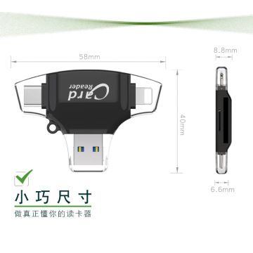 4 in 1 Card Reader which phone