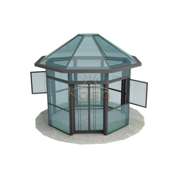Glazed Sunroom Glass Sun Room Lowe Patio Enclosure