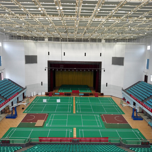 Enlio Badminton PVC Sports Flooring BWF Certification