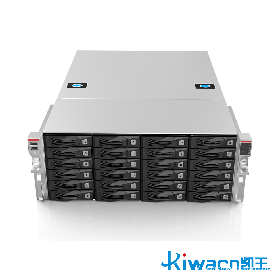 4u24 disk rack server chassis