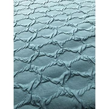 polyester microfiber combination bubble fabric