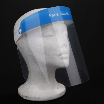 Dental Face Shield with Plastic Protective Film