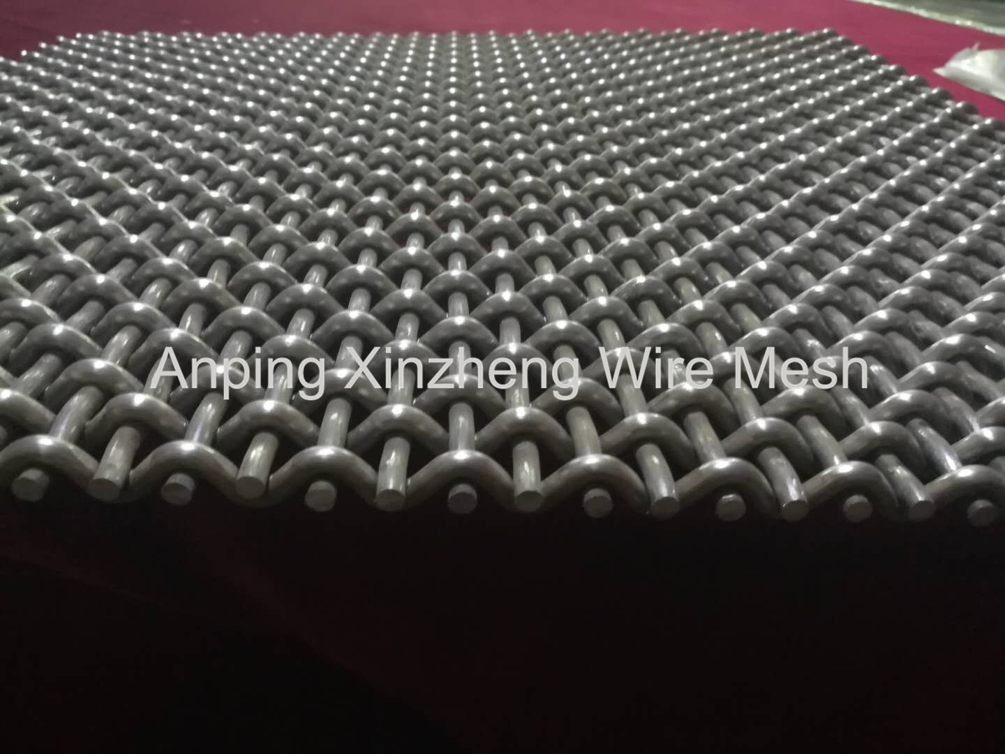 Heavy Crimped Metal Mesh