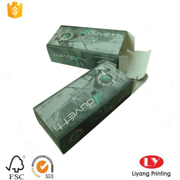 Cheap thick art paper packaging box