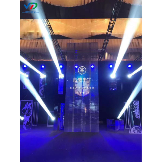 PH10.4-10.4 Transparent LED Display with1000x500mm cabinet