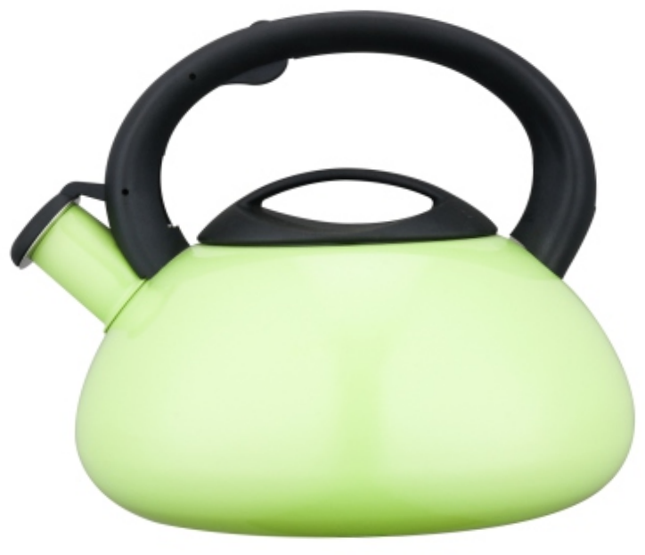 KHK038 5.0L Stainless Steel Whistling Teakettle with color painting
