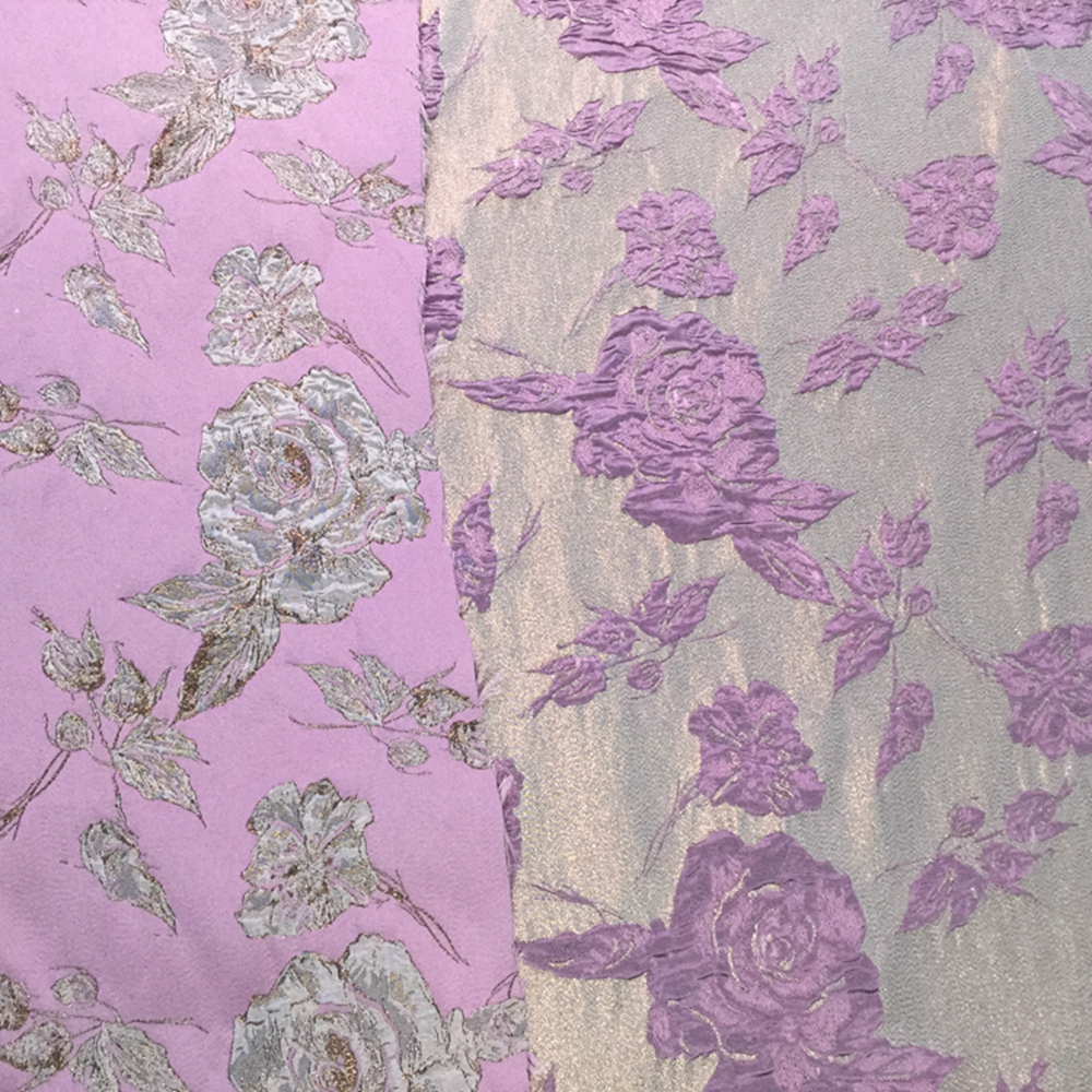 Dirty Pink Jacquard Fabric