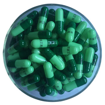 Top Quality Gelatin Capsule 00-4 Colored Empty