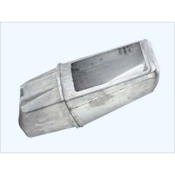 Aluminium Die Casting Light Shade ISO9001 TS16949 Passed