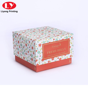 Wholesale Custom Printing Candle Box Holder