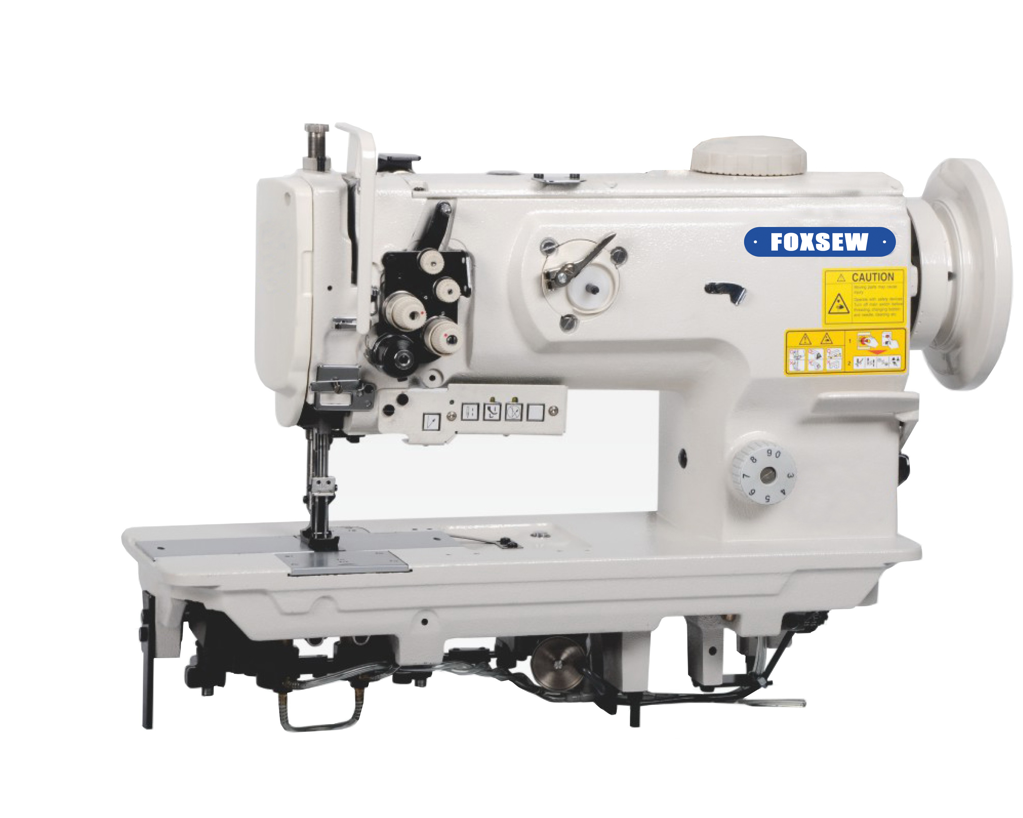 KD-1560N Double Needle Unison Feed Walking Foot Heavy Duty Lockstitch Sewing Machine