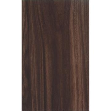 Wood grain finish aluminum panels