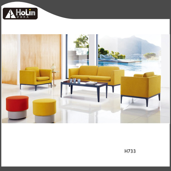 Modern Hotel Office Furniture Leisure Fabric Sofa
