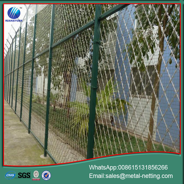 Welded Razor Blade Wire Fence