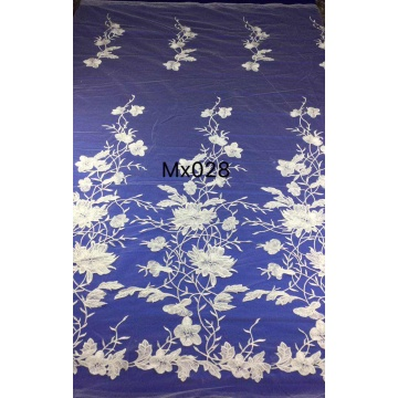 High Quality Lace Custom Embroidery Fabric