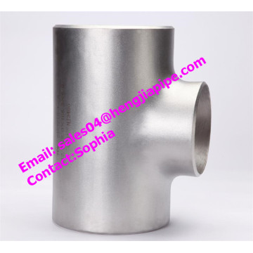 stainless steel 1.4301 equal tee reducing tee