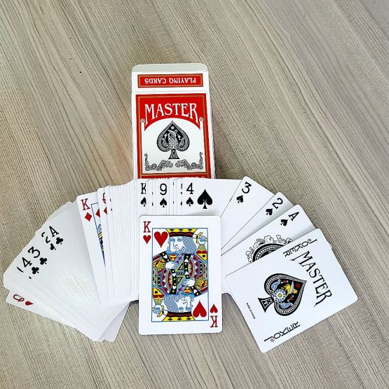 OEM logo custom gold foil playing cards