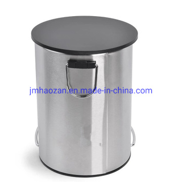 Recycling Stainless Steel Foot Pedal Waste Bin, Dustbin