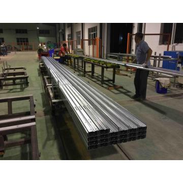 C profile metal purlin