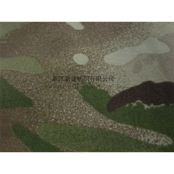 100% Nylon Taslon Camouflage Fabric for UK