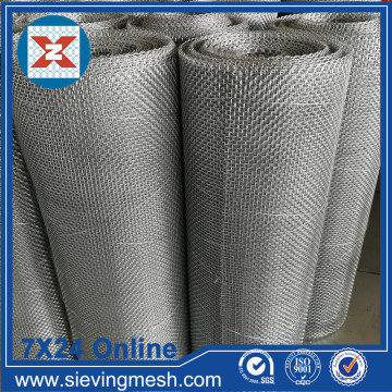Crimped Wire Mesh with Close Edge