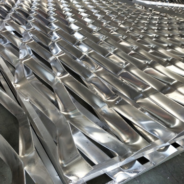 Aluminum Expanded Cladding Metal Mesh