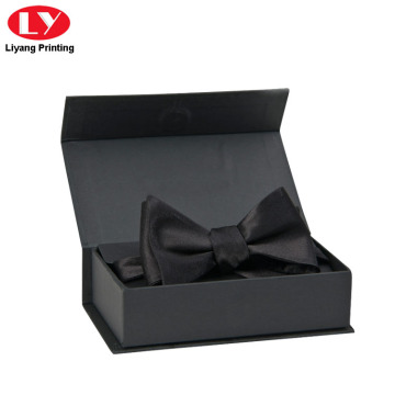 Magnetic Matte Black Bow Tie Gift Box