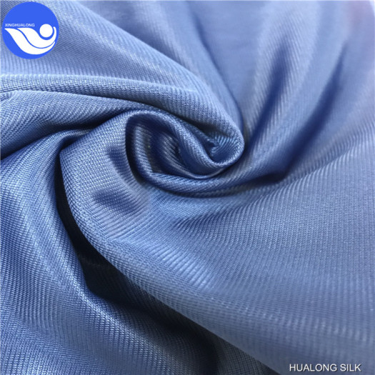 One side brushed super poly of polyester material