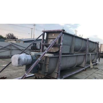 Silo Outfeed Screw Conveyor for Paper Fiber