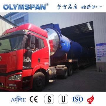 ASME standard cement ACC block curing autoclave