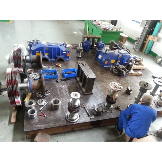 Geared Hydraulic Couplings Overhaul