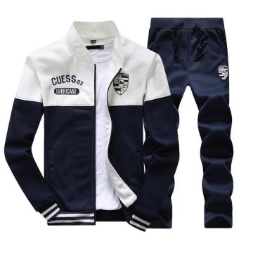 Autumn Fashion Men's Sports Casual Baseball Style Tracksuits