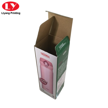 Cheaper packaging box for cup bottle packaging