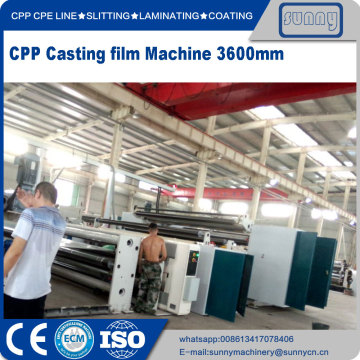 CPP Casting film machine