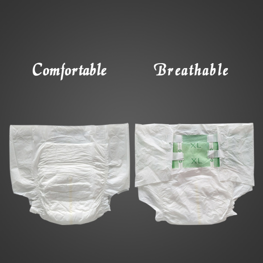 Customize adult diapers nighttime with tabs